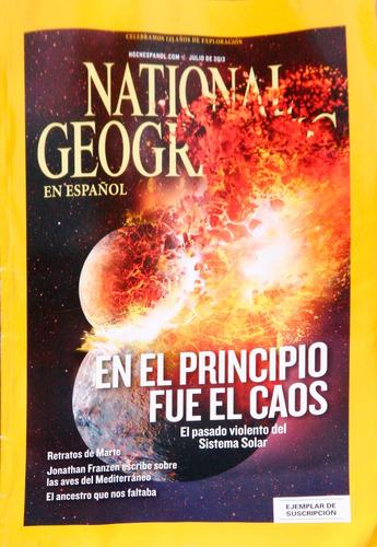 revista national geographic. 2013 julio.