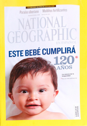 revista national geographic. 2013 mayo.