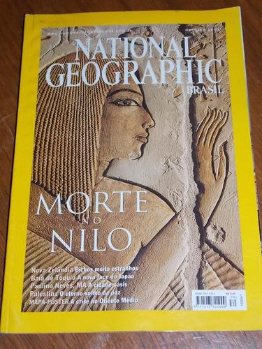 revista national geographic brasil out 2002 morte no nilo