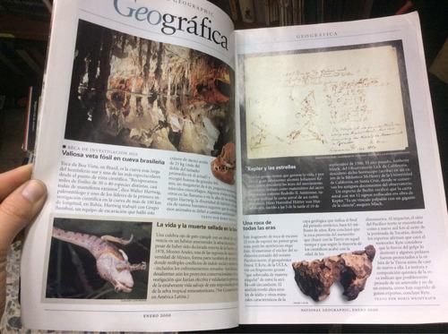 revista national geographic enero 2000. enigma de belleza