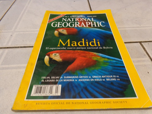 revista national geographic marzo 2000 español