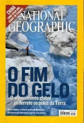 revista national geographic nº 087 - o fim do gelo