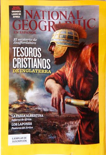 revista national geographic noviembre  2011.