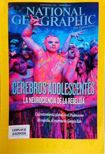 revista national geographic octubre  2011.