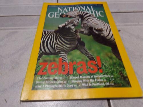 revista national geographic setiembre 2003 ingles