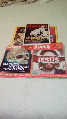 revista national geographic,super i. e  historia 7 und