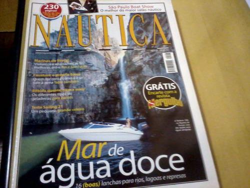 revista náutica nº207 mar de água doce