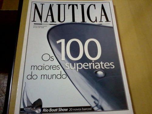revista náutica nº214 os 100 superiates