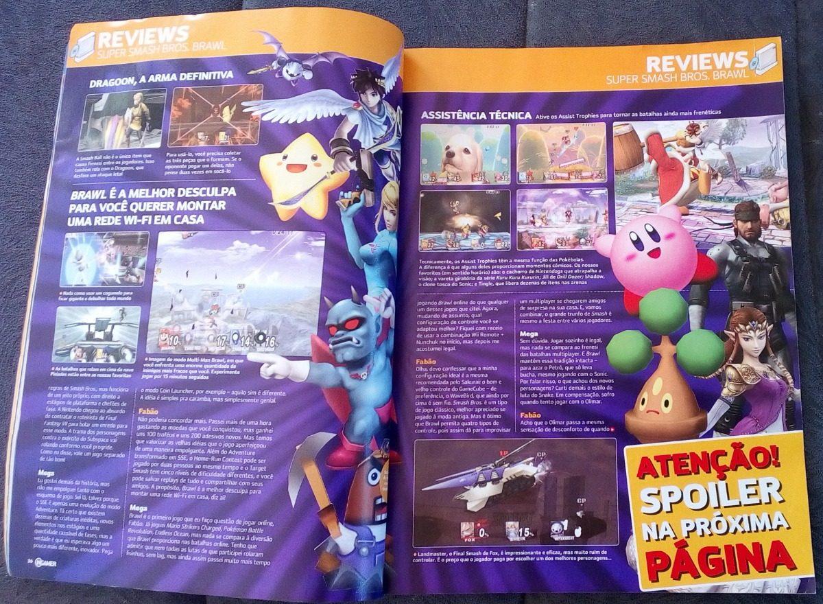 Revista Ngamer Nº 9 Bully Scholarship Edition Kirby Smash Br