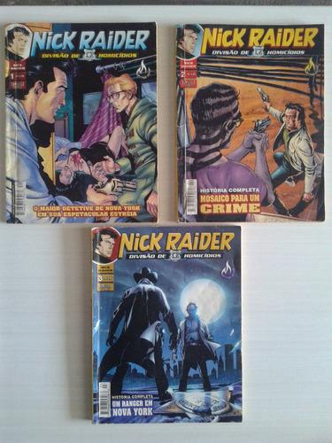 revista nick raider edições n° 2 - 3