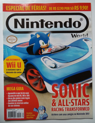 revista nintendo world nº 165