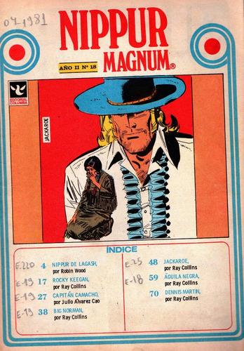 revista nippur magnum, n° 18, abril 1981