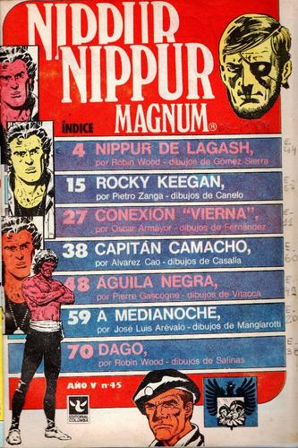 revista nippur magnum, n° 45, mayo 1984