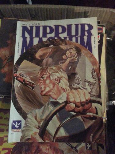 revista nippur magnum todo color numero 58 ed. columba