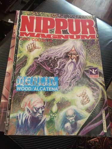 revista nippur magnum todo color numero 79 ed. columba