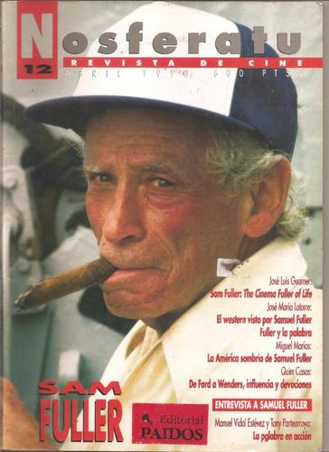 revista nosferatu número 12. samuel fuller