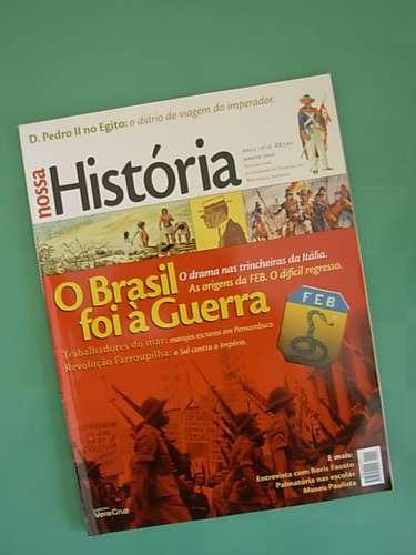 revista nossa história # 15 - jan/2005