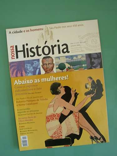 revista nossa história # 3 - jan/2004