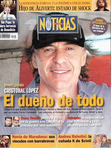 revista noticias nº1888 marzo 2013 - cristobal lopez