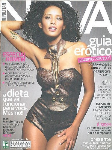 revista nova 465: taís araújo / bruno gissoni