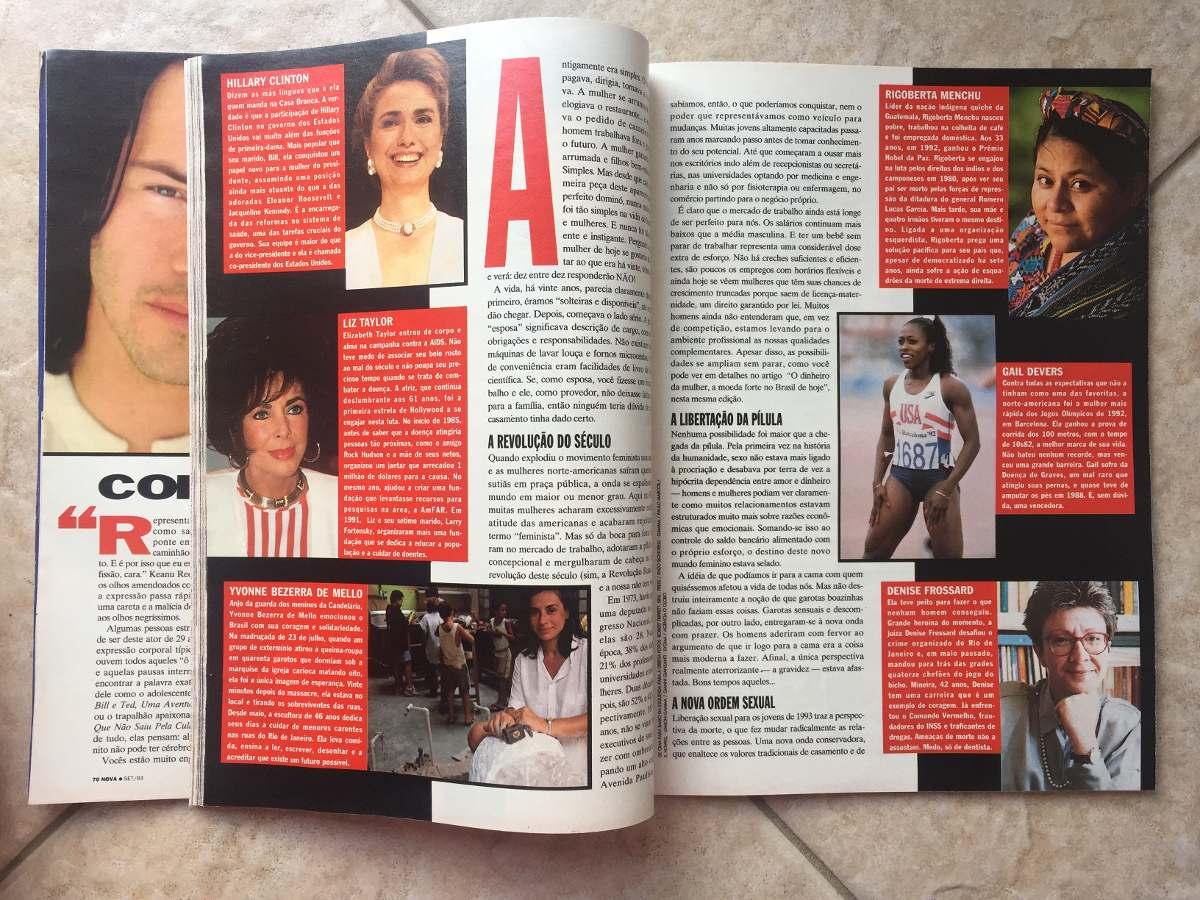 Revista Nova Edição Aniversário 20 Anos Keanu Reeves N9 R 2730