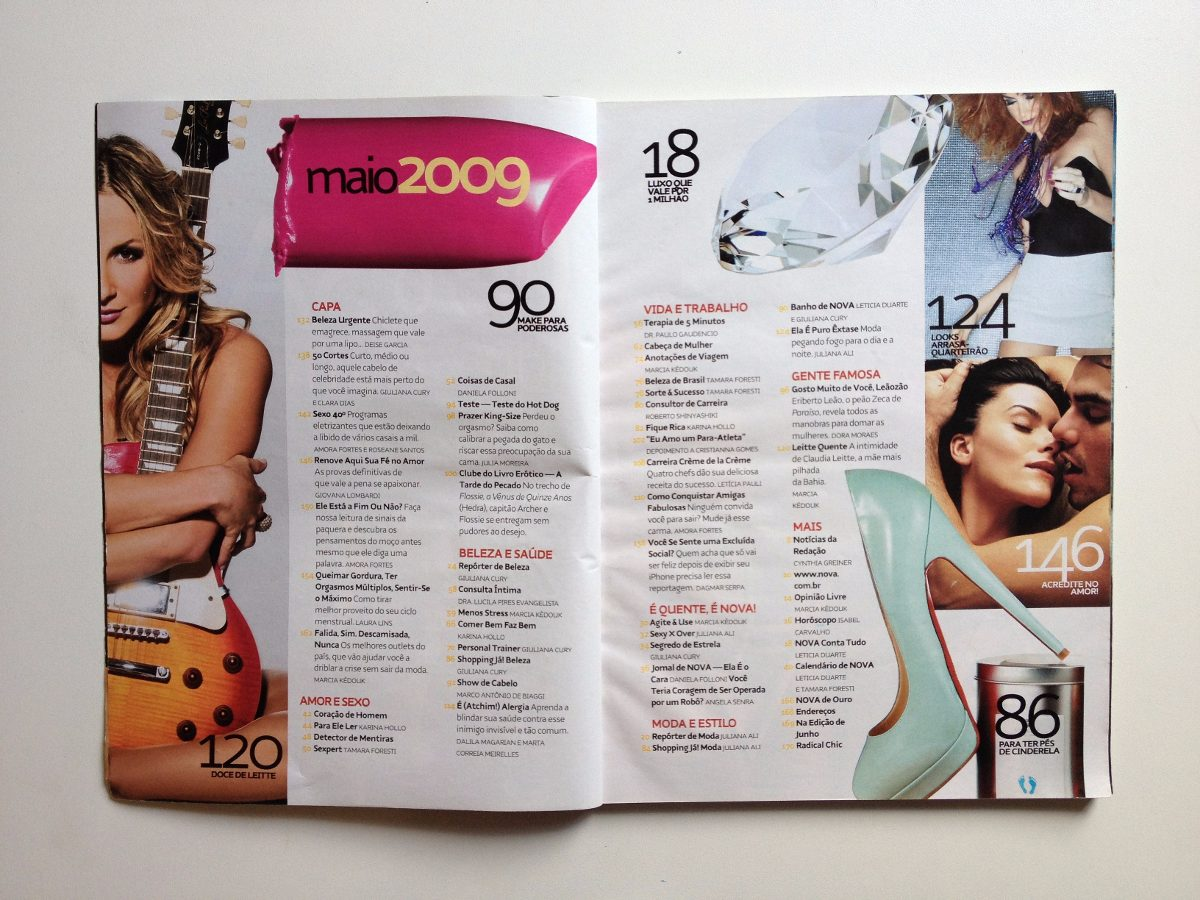 a111ebf94 Revista Nova Nº428 Claudia Leitte Ano 2009 - R  24