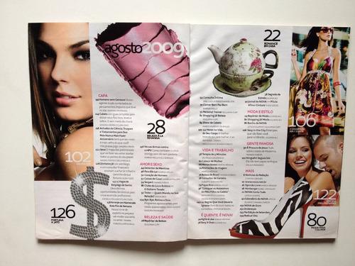 revista nova nº431 isis valverde  ano 2009