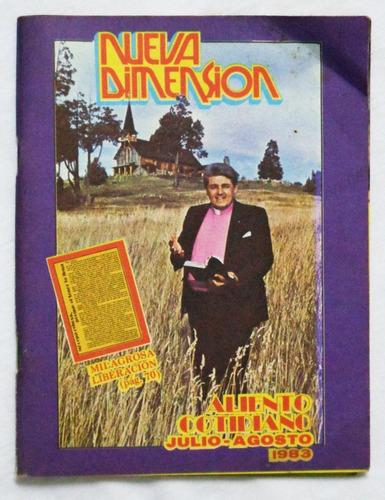 revista nueva dimensión jul - ago 1983 / omar cabrera