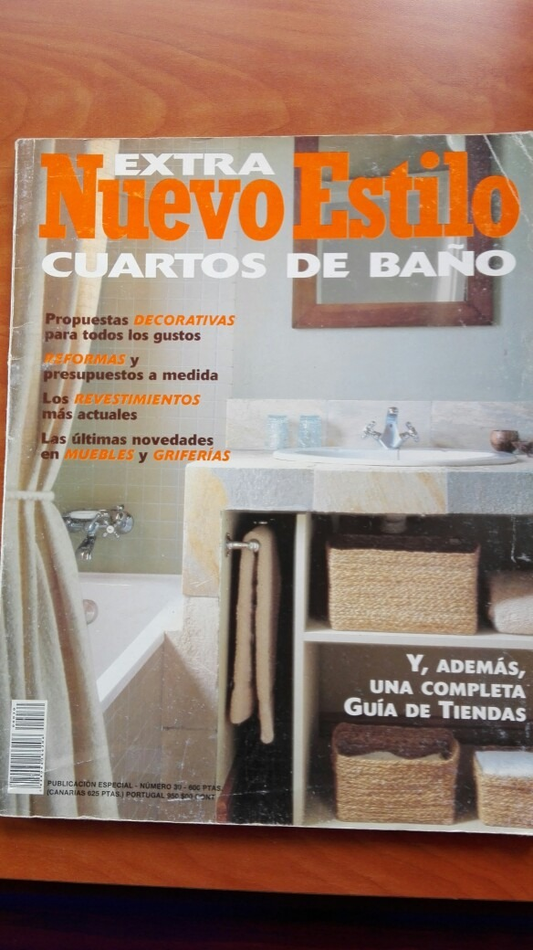 Revista Nuevo Estilo: Especial Cuartos De Baño - Bs. 5.800,00 en ...