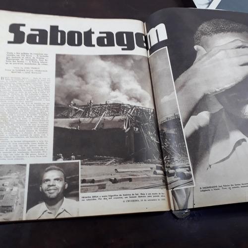 revista o cruzeiro 10 09 1955 enterro carmem miranda
