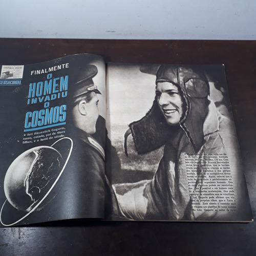 revista o cruzeiro 29 04 1961 marta rocha, iuri, eichmann