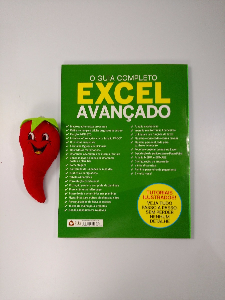 973ad7bf87113 Revista O Guia Completo Excel Avançado (loja Do Zé) - R  35