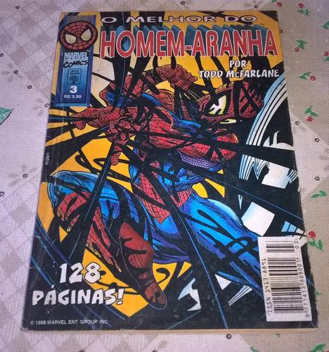revista - o melhor do homem-aranha -  nº03