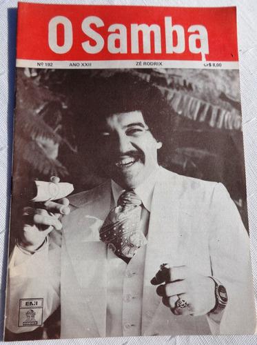 revista: o samba nº 192: zé rodrix - letras de músicas