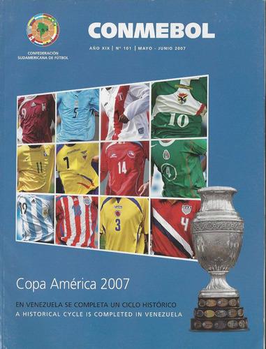 revista oficial de la conmebol, nº 101 (mayo-junio 2007)