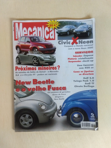 revista oficina mecânica 161 new beetle e o velho fusca