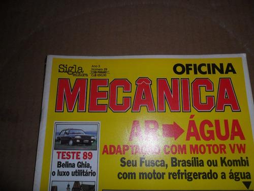 revista oficina mecânica ano 3  nº 29