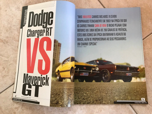 revista old cars 1 maverick gt x dodge charger rt ferrari