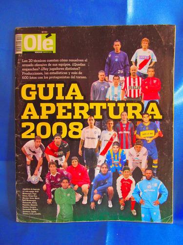 revista ole edicion especial guia apertura 2008