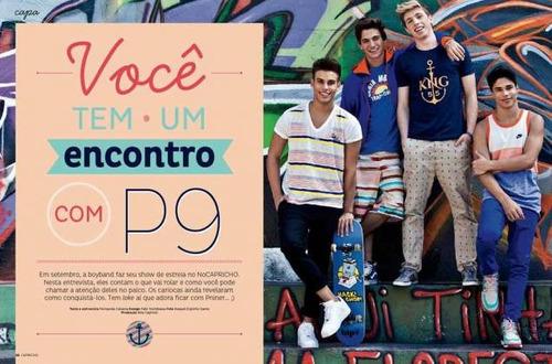 revista p9 nova e lacrada! = capricho nº # 1181 agosto 2013