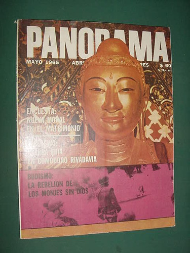 revista panorama may65 budismo comodoro rivadavia petroleo