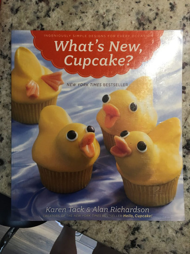 revista para decorar cup cake