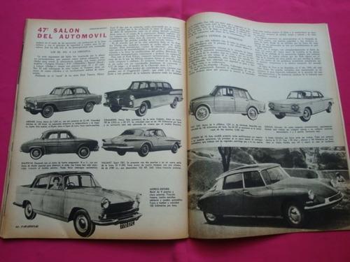 revista parabrisas n° 1 año 1960 - test fiat 600
