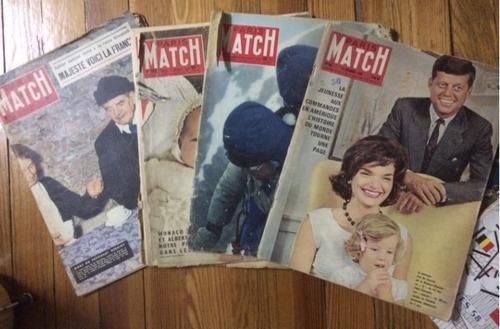 revista paris match en español coleccion