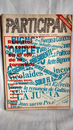 revista participar 1982 num 37 josé andreasen ed participa