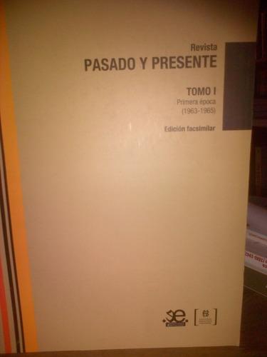 revista pasado y presente. tomo i y ii. biblioteca nacional