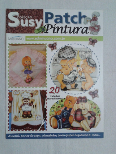 revista patch pintura - coleção susy