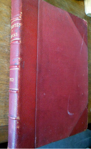 revista patentes y marcas de sudamerica 1922 tapas duras