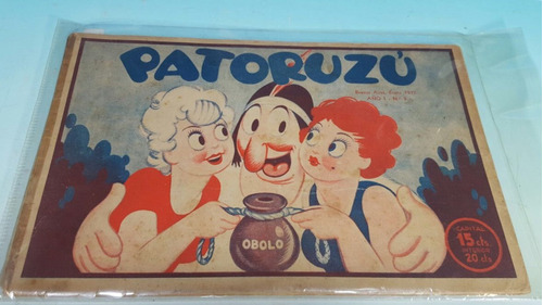 revista patoruzu' año 1 numero 3- enero 1937