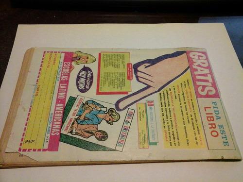 revista patoruzu n 509 narcotrafico bajo cero julio de 1989